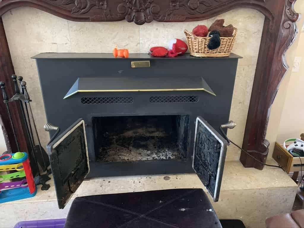 Crestview fireplace
