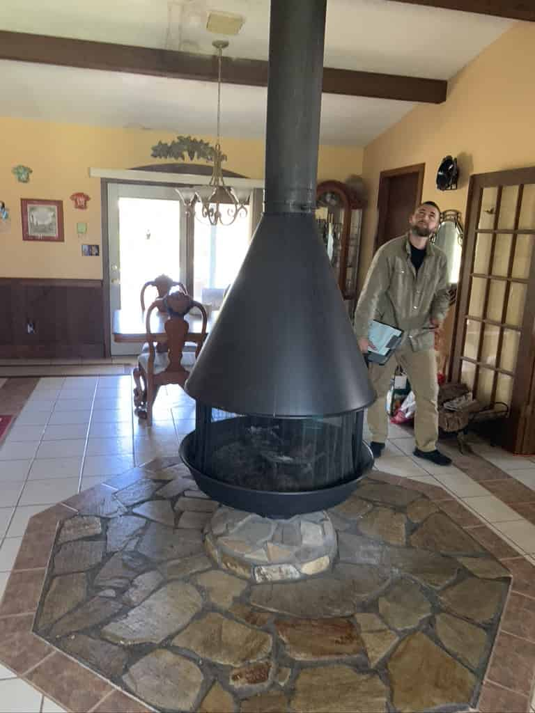 Center Room Fireplace Lacombe Louisiana