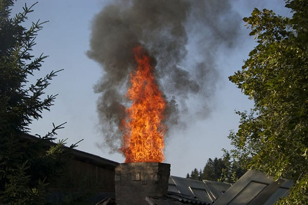 chimney fire in Atmore Alabama